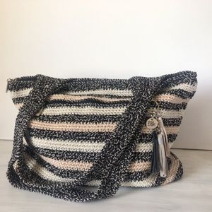 The Sak Woven Crochet Tote ~ Like New